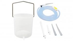 Plastic Enema bucket kit
