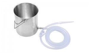 Stainless Steel enema Bucke XP-04-01