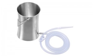 Stainless Steel enema Bucke XP-04-04
